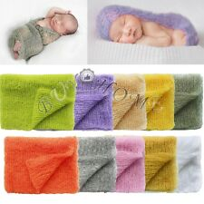Cute Baby Kids Newborn Crochet Knit Wrap Cloth Prop Outfits Photo Photography