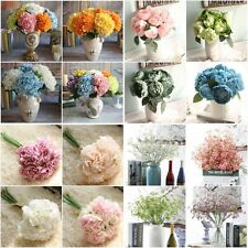 Artificial Silk Fake Flowers Buds Wedding Bridal Bouquets Party Home Decor Gift