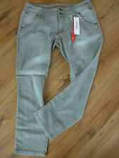 Sheego Jeans Trousers Size 44 - 50 Short size Grey (473) NEW