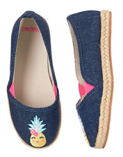 NWT Gymboree Sugar Reef  Pineapple Espadrille Shoes toddler or kid Girls