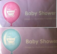 10X Baby Shower Boy/Girl Pink/Blue Balloons Newborn Party Decorations Helium/Air