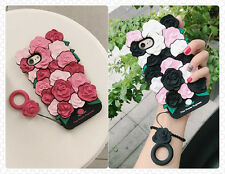 3D Versailles Rose Flower Case Cover Skin Shell For iPhone 6/6S P 7/7P