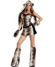 New Be Wicked BW1293 Temptuous Tiger Sexy Adult Halloween Costume