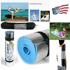 LOT 6mm Thick Non-Slip Yoga Mat Exercise Fitness Lose Weight 68x24x0.24inch Y8