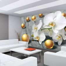 Fleece Photo Wallpaper No. 897 ! Orchids Flowers Balls By