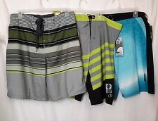 "MENS NWT 22"" AT THE KNEE OP SWIM BOARD SHORTS SIZE 38"