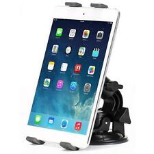 PREMIUM CAR MOUNT WINDSHIELD HOLDER DASH SWIVEL CRADLE for TABLETS