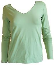Tommy Hilfiger . Jersey , t - shirt , green , woman . Size Size : XS- S