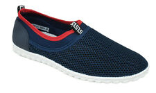 Men Shoes Slip On Sneakers Breathable Sport Beach Water Loafers Navy Blue AESOP