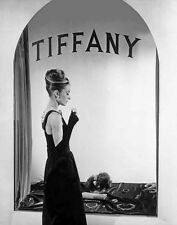 Audrey Hepburn Publicity Still in Front of Tiffany's Window High Quality Photo