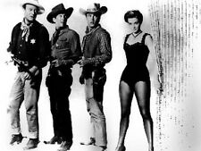 Rio Bravo Group Picture in Black and White High Quality Photo
