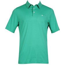 New KJUS Superload Golf Polo - Cell Stone