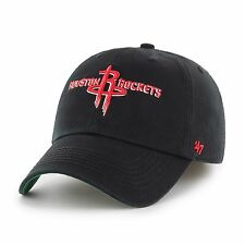 Houston Rockets '47 Brand NBA Black Franchise Fitted Cap