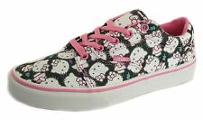 Vans Hello Kitty Low Canvas Ladies girls Casual Lace Pumps Pink Black