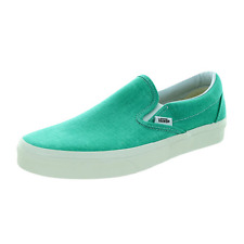New VANS Womens Classic Slip On GREEN VN-0ZMRFR7 US W 5.5 - 8.5 TAKSE