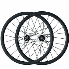 38mm Clincher Carbon Wheels Road Bicycle Road Wheels Track Fixed Gear Wheelset