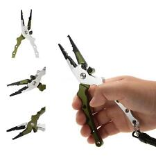 Lightweight Fish Lure Pliers Fishing Pliers Hook Remover Braid Cutter O1C8