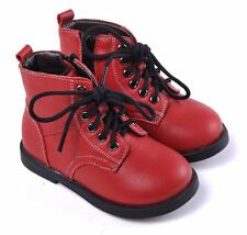 """Caroch """"Romper"""" Red Leather Boots Boys Girls"""