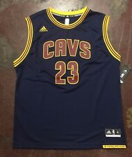 Cleveland Cavaliers LeBron James Adidas NBA Blue Replica Pride Jersey - Youth