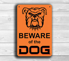 Beware of Dog Gate Sign Beware of the Dog thick aluminum composite sign