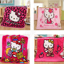 Hello Kitty Pink Baby Fleece Plush Soft Throw Blanket