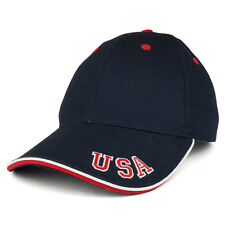 USA Embroidered Sandwich Bill Baseball Cap(FREE SHIPPING)