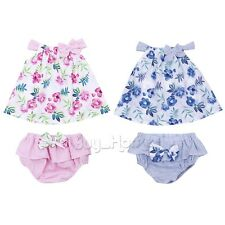 Newborn Infant Baby Kids Girls Bodysuit Tutu Romper Jumpsuit Outfits Clothes HOT
