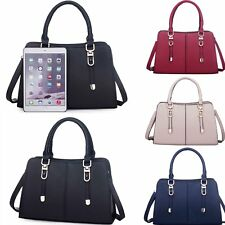Women PU Leather Handbag Purse Tote Shopper Hobo Messenger Satchel Shoulder Bag