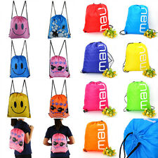 Lightweight Waterproof Swimming Adjustable Drawstring Backpack Bag Pack Pouch MF
