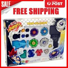 New 4D Fusion Top Metal Master Rapidity Fight Rare Beyblade Launcher Grip Set MH