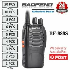 Baofeng BF-888S UHF 400-470MHz Walkie Talkie Radio w/ UV-5R Earpiece - Bundle AU