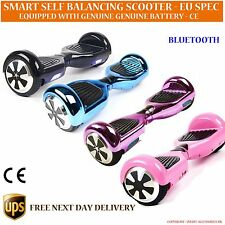 Hover Self Electric Scooter Balance Board 2 Wheel Air Skate Board Bluetooth
