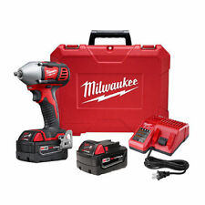"""Milwaukee M18 18V 3/8"""" Impact Wrench Kit with Friction Ring 2658-22 Recondition"""