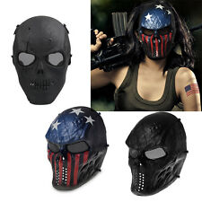 Airsoft Paintball SKULL Mask Half Face Protective Airsoft Tactical Military Mask