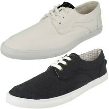 Mens Base London Casual Canvas Shoes 'Tartare'