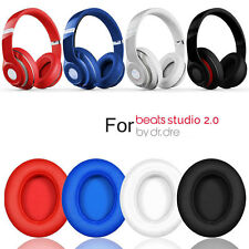 2*Replacement Ear Pad  Headband Cushion For Beats By DrDre Studio 2.0 Headphone