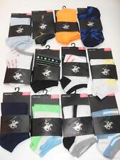 New Beverly Hills Polo Club Ankle Socks - 10 Styles! - Size 4-9 - NWOT