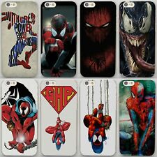 Comics Amazaing Spiderman Avengers Hard Case Cover For iPhone Samsung Huawei