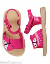 NWT Gymboree Island Hopper Butterfly gummy Sandals Shoes Toddler 4 5 6 7 8 9 10