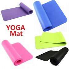 183*61*1CM Yoga Mat Exercise Fitness Workout Physio Pilates Camping Gym Non Slip