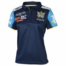 Gold Coast Titans 2017 Ladies Media Polo Shirt Top BNWT NRL Rugby League