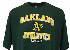 Oakland Athletics Green T Shirt, MLB Genuine Merchandise, Mens Big & Tall