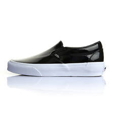New VANS Womens Classic Slip On VN-0XG8LCV BLACK US W 5.5 - 8.0 TAKSE
