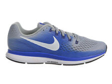 NEW MENS NIKE AIR ZOOM PEGASUS 34 RUNNING SHOES TRAINERS WOLF GREY / WHITE / RAC