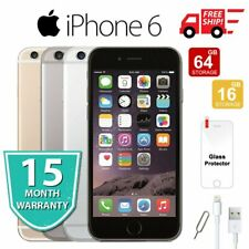Apple iPhone 6 16 64 128GB Factory Unlocked Smartphone Mobile - Various Color AU