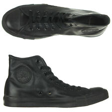 NEW Converse - Chuck Taylor Leather Hi Tops Shoes/Black