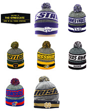 Top of the World NCAA Cumulus Striped Cuffed Knit Adult Beanie 7 TEAMS TO CHOOSE