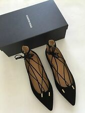 [ COUNTRY ROAD ] grace suede ballet shoes [ size: 38,39,40 ] $149.95 NEW IN BOX