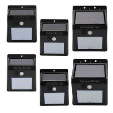 20LED Solar Power PIR Motion Sensor Wall Light Outdoor Waterproof Garden Lamp