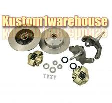 "VW front 2.5"" dropped lower spindle disc brake conversion kit 5 x 4 3/4 Chevy"